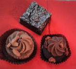 Schokolade geht immer - auch als Dessert beim Verlegertreffen