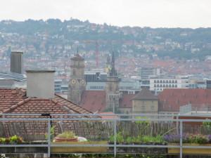 Über den Dächern Stuttgarts ...