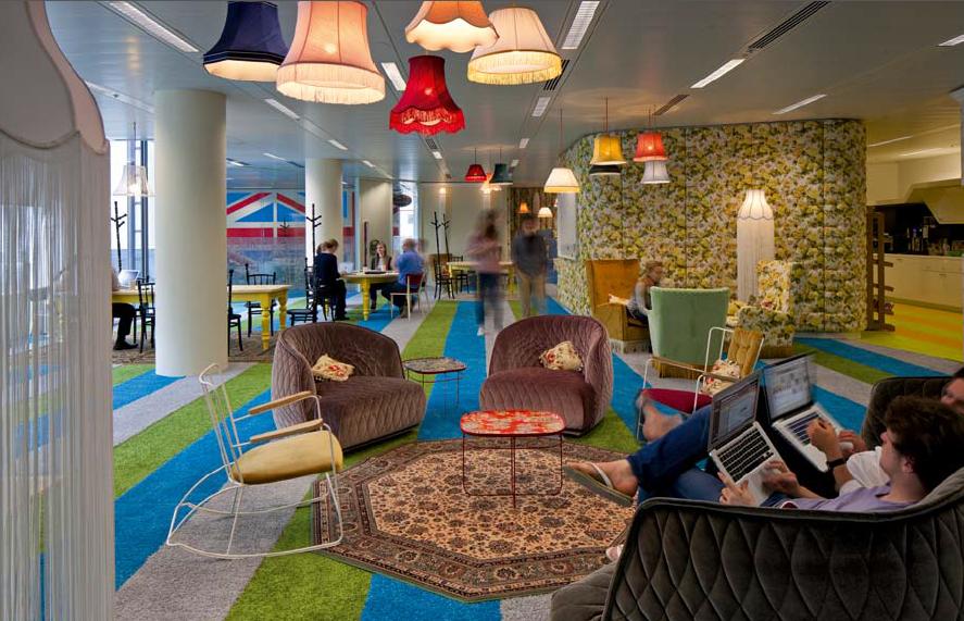 Google London, von Lee Penson, Foto von PHOTOGRAPHER NAME aus WorkScape, copyright Gestalten 2013