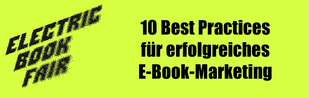 Best Practices E-Book-Marketing