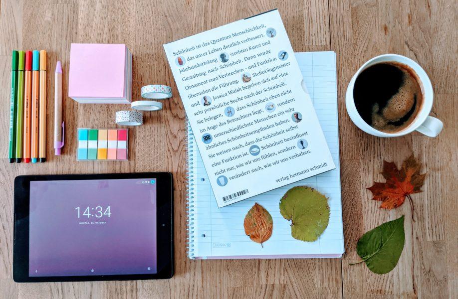 Mein Schreibtisch im Oktober